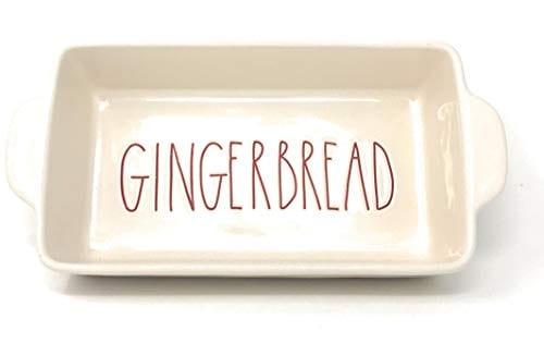 Rae Dunn Artisan Collection Bake GINGERBREAD PAN 0