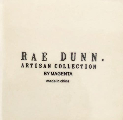 Rae Dunn Artisan Collection By Magenta PenPencil Holder 45 X 3 X 3 DREAM Type Writer Print 0 0