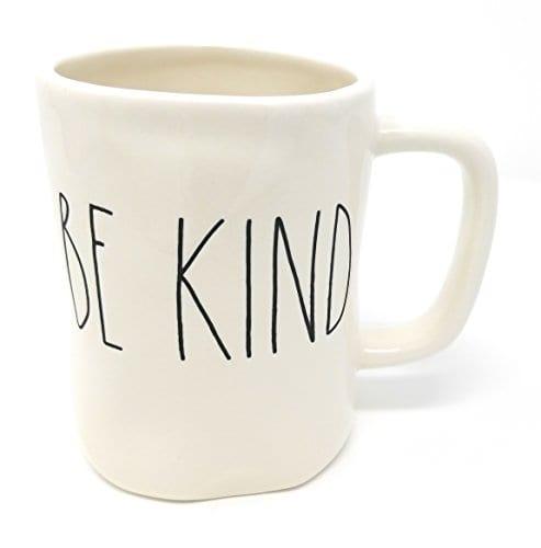 Rae Dunn Artisan Collection Magenta Mug BE KIND 0