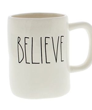 Rae Dunn BELIEVE Mug Artisan Collection 0 300x360
