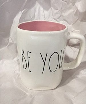 Rae Dunn Be You Mug With Pink Inside 0 300x360