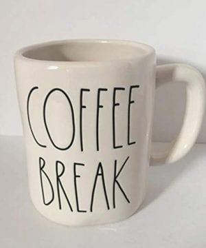 Rae Dunn By Magenta COFFEE BREAK Ceramic LL Coffee Tea Mug 0 300x360