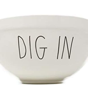 Rae Dunn By Magenta DIG IN Ceramic LL 7 Serving Mixing Bowl 0 300x332