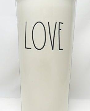 Rae Dunn By Magenta LOVE Large Letter LL Ceramic Travel Tumbler Mug 0 0 292x360