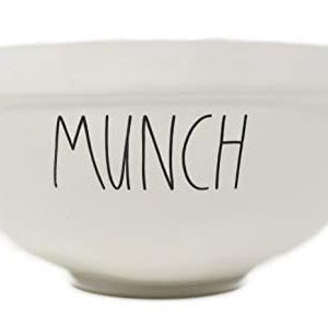 Rae Dunn By Magenta MUNCH Ceramic LL 10 Serving Mixing Bowl 0 300x307