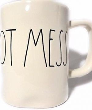 Rae Dunn HOT MESS Ceramic Coffee Mug By Magenta 0 0 300x360