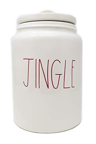 Rae Dunn Jingle Christmas Canister 0