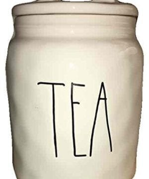 Rae Dunn LargeLong Letter Tea Canister Artisan Collection 0 300x360