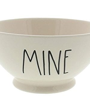 Rae Dunn Magenta Artisan Collection Bowl MINE Black Letters 0 300x353