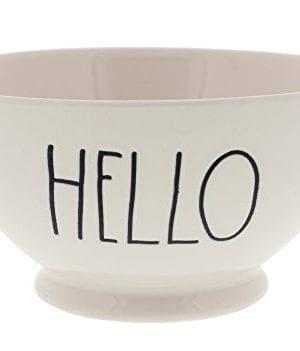 Rae Dunn Magenta Artisan Collection Soup Cereal Bowl HELLO 0 300x351