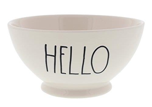 Rae Dunn Magenta Artisan Collection Soup Cereal Bowl HELLO 0