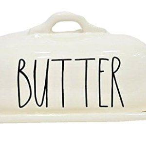 Rae Dunn Magenta Ceramic Butter Dish 0 300x312