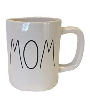 Rae Dunn Magenta Ceramic Coffee Mug Mom 0 300x360