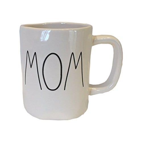 Rae Dunn Magenta Ceramic Coffee Mug Mom 0