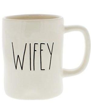 Rae Dunn Magenta Ceramic Coffee Mug Wifey 0 300x360