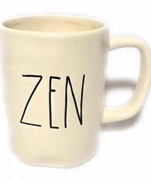 Rae Dunn Magenta Ceramic Coffee Mug Zen 0 300x360