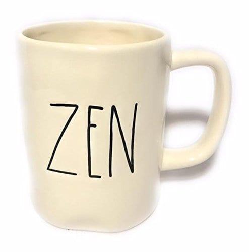 Rae Dunn Magenta Ceramic Coffee Mug Zen 0