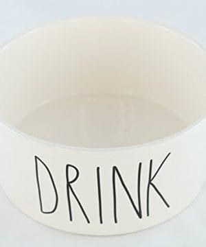Rae Dunn Magenta Ceramic Large Dog Cat Pet Bowl 6 Inch Drink 0 300x360