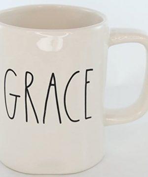 Rae Dunn Magenta Ceramic Mug Grace 0 300x360