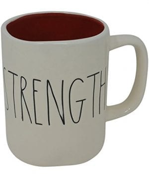 Rae Dunn Magenta Ceramic Mug Strength 0 300x360