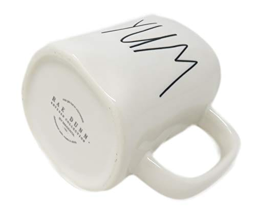 Rae Dunn Magenta Ceramic Mug Yum 0 1