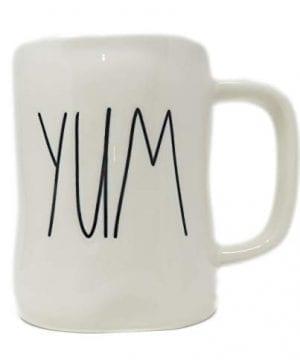 Rae Dunn Magenta Ceramic Mug Yum 0 300x360