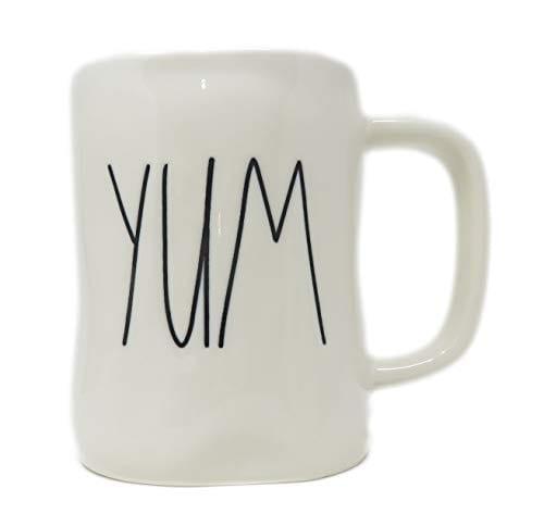 Rae Dunn Magenta Ceramic Mug Yum 0