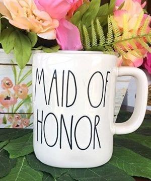 Rae Dunn Maid Of Honor Mug By Magenta Wedding Bachelorette 0 1 300x360