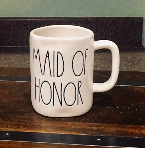 Rae Dunn Maid Of Honor Mug By Magenta Wedding Bachelorette 0 2