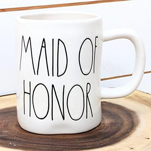 Rae Dunn Maid Of Honor Mug By Magenta Wedding Bachelorette 0