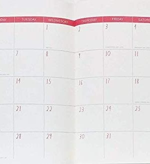 Rae Dunn Plan Ahead 2019 Monthly Planner Calendar 17 Months Aug 2018 Dec 2019 To DoNotes 0 0 300x329