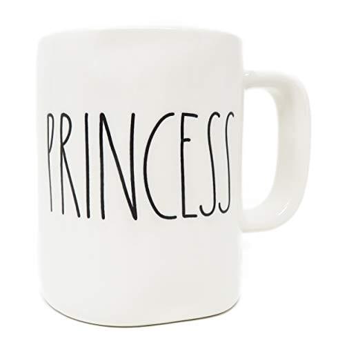 Rae Dunn Prince Princess Coffee Mug Set 0 2