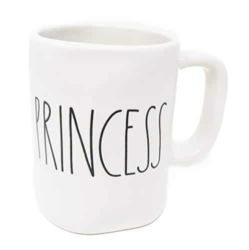 Rae Dunn Prince Princess Coffee Mug Set 0 3