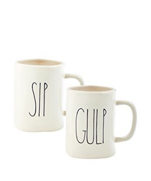 Rae Dunn SIP And Gulp Mug Set By Magenta 0 300x360
