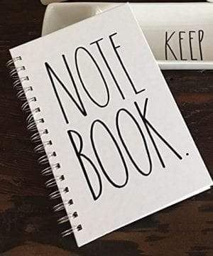Rae Dunn Spiral Notebook Journal Diary Office School Notes 0 2 300x360