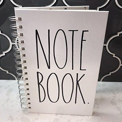 Rae Dunn Spiral Notebook Journal Diary Office School Notes 0 3