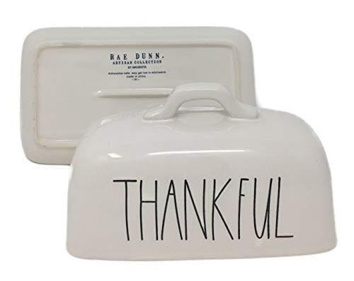 Rae Dunn Thankful Butter Dish 0 1
