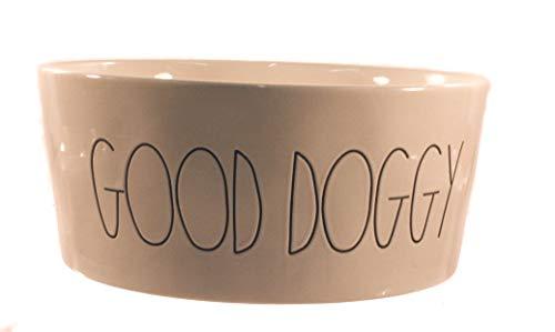 Rae Dunn X Large Good Doggy Large Letter Dog Bowl 0 0