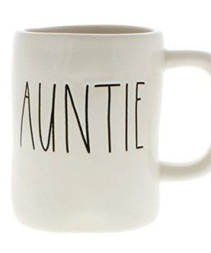 Rae Dunn By Magenta AUNTIE Ceramic LL Coffee Mug 0 300x360
