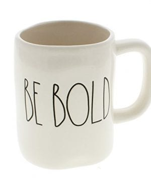 Rae Dunn By Magenta BE BOLD Ceramic LL Coffee Mug 0 300x360