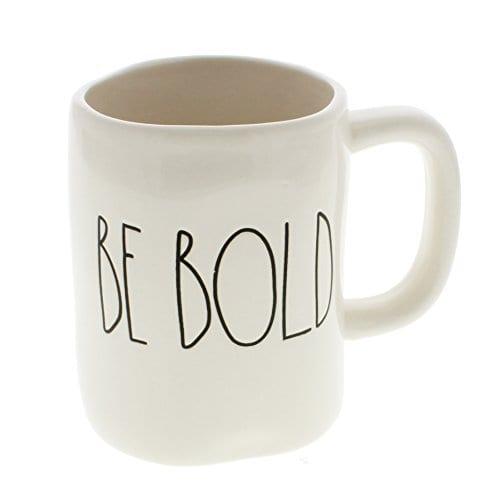 Rae Dunn By Magenta BE BOLD Ceramic LL Coffee Mug 0