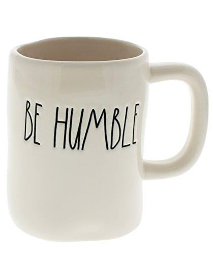 Rae Dunn By Magenta BE HUMBLE Ceramic LL Coffee Mug 0