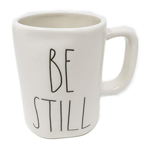 Rae Dunn By Magenta BE STILL Ceramic LL Coffee Mug 0