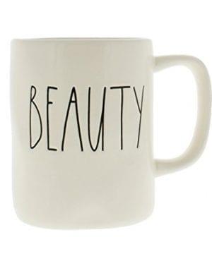 Rae Dunn By Magenta BEAUTY Ceramic Coffee Mug 0 300x360