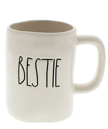 Rae Dunn By Magenta BESTIE Ceramic LL Coffee Mug 0