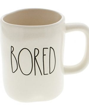 Rae Dunn By Magenta BORED Ceramic LL Coffee Mug 0 300x360