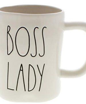 Rae Dunn By Magenta BOSS LADY Ceramic LL Coffee Mug 0 300x360