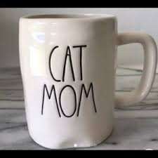 Rae Dunn By Magenta CAT MOM Mug 0