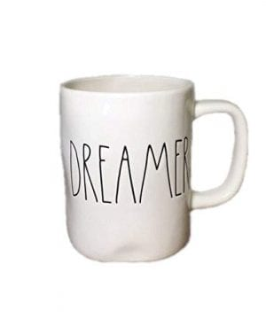 Rae Dunn By Magenta DREAMER Ceramic LL Coffee Mug 0 300x360