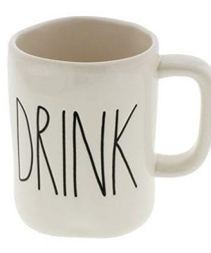 Rae Dunn By Magenta DRINK Ceramic LL Coffee Mug 0 300x360